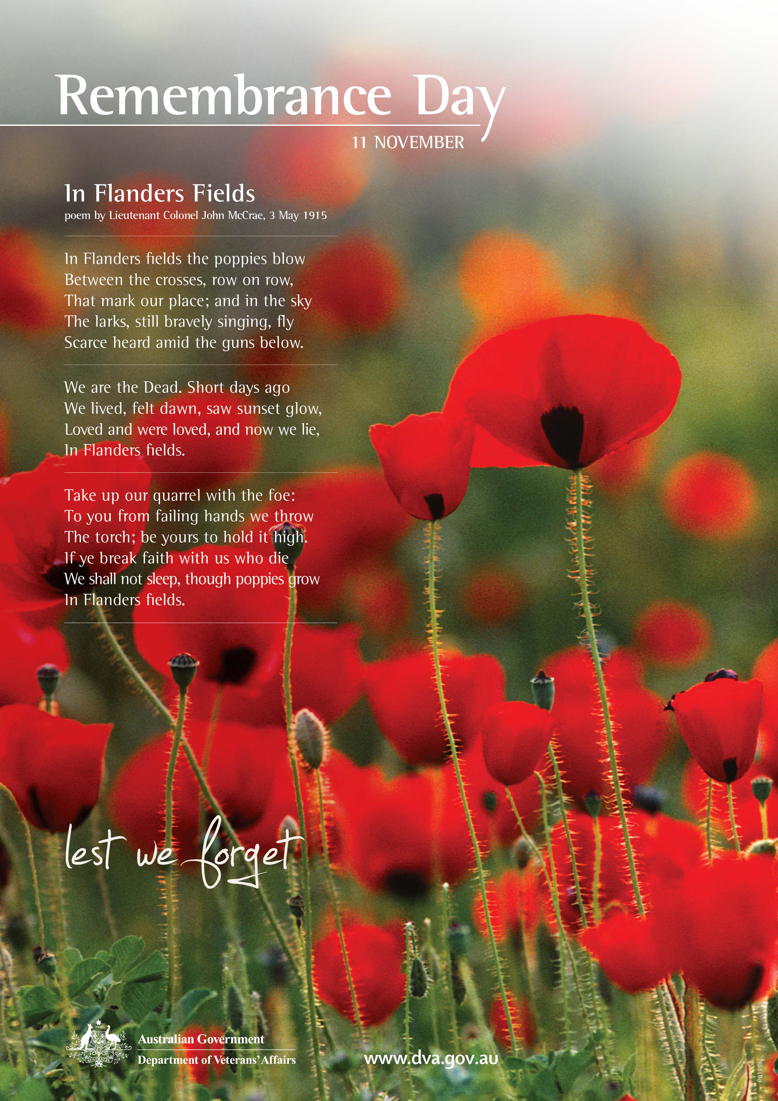 Remembrance Day Websites